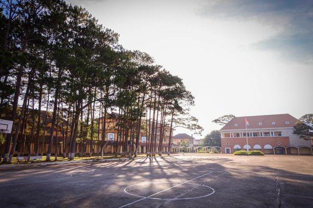 Địa điểm vui chơi Đà Lạt - Trường cao đẳng sư phạm Đà Lạt 01