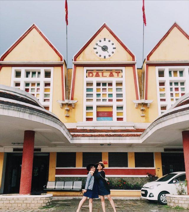 Địa điểm vui chơi check-in ga Đà Lạt
