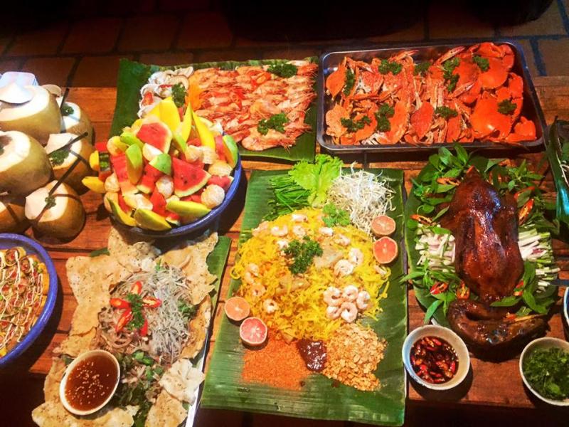 Một bữa thịnh soạn tại Quán Xưa
