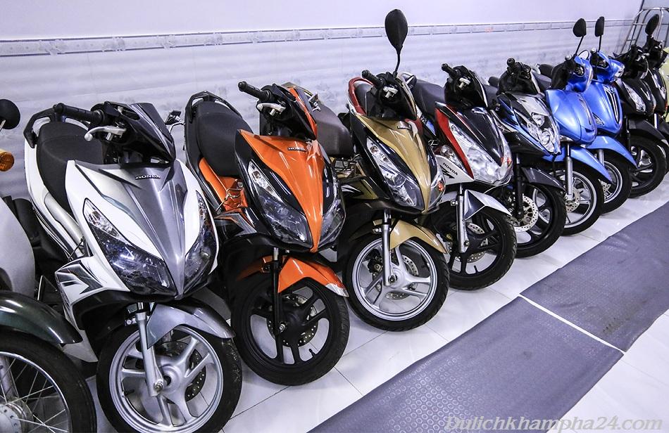 Xe máy cho thuê tại Đà Lạt