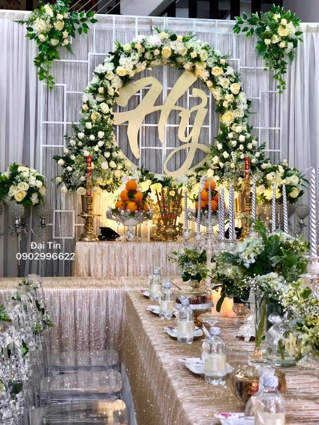 Trang trí tiệc cưới ĐẠI TÍN