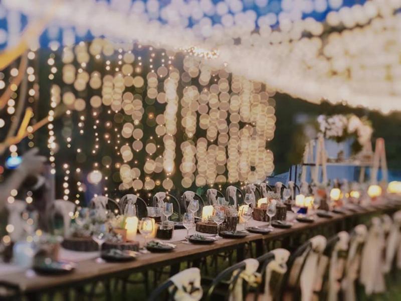 Trang trí tiệc cưới UT studio