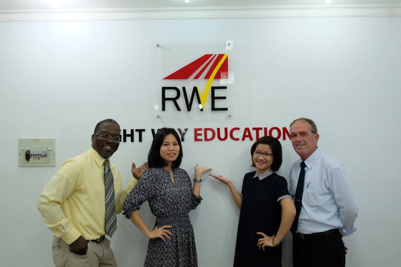 Trung tâm tiếng Anh RWE