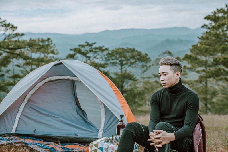 cắm trại ở đồi thiên phúc đức