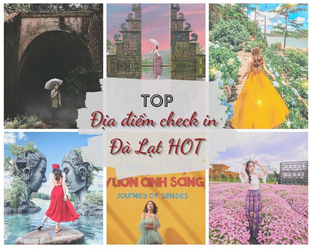 Địa điểm check-in Đà Lạt hot