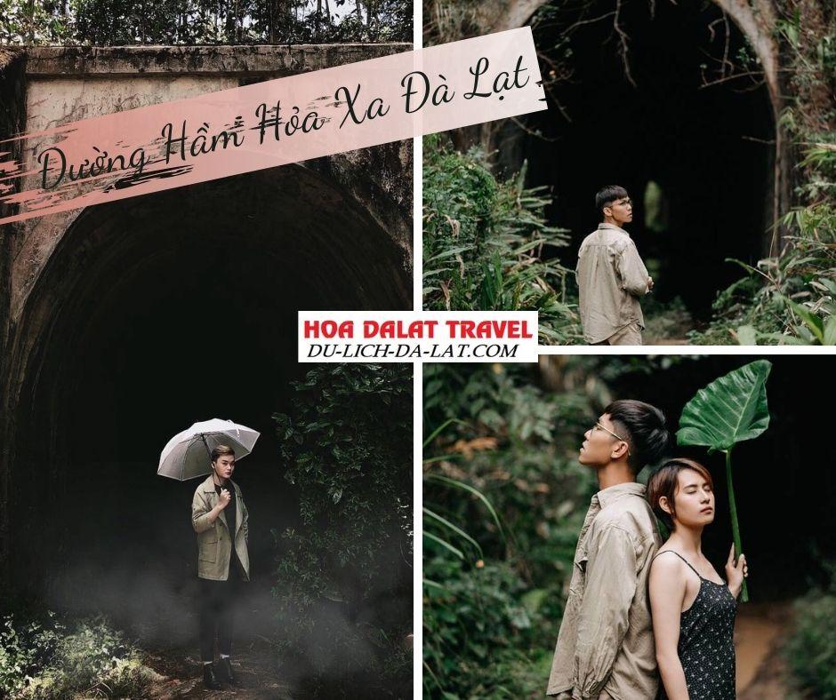 Đường hầm hỏa xa ở Đà Lạt