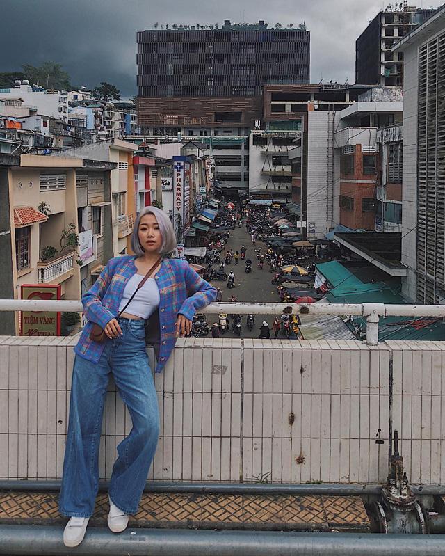 hình ảnh chợ Đà Lạt