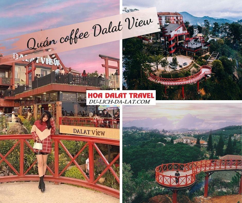 Quán cafe Dalat View